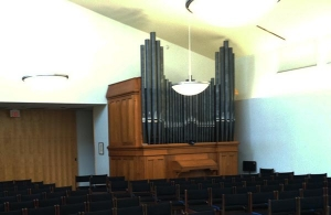 Covenant Church Organ Pipes