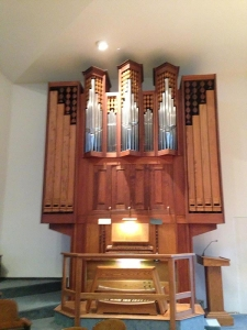 Cypress Creek Christian Church organ