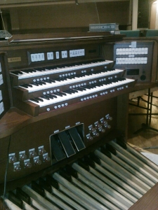 Emerson Unitarian Universalist Church organ