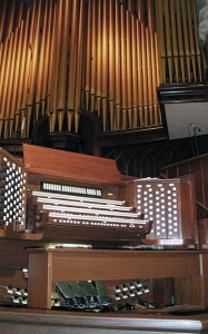 First United Methodist Church Organ Console