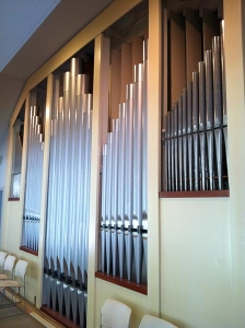 First Congregational Organ Pipes