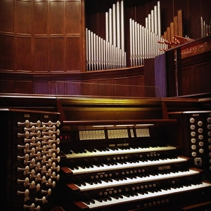 Grace Presbyterian Church Organ Console