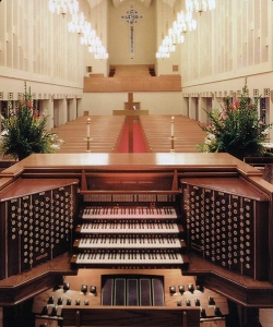 Moody Methodist Church organ