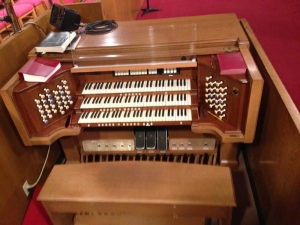 Bellaire United Methodist Church Organ