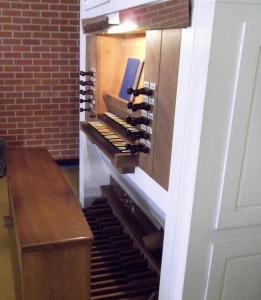 Christ Church Presbyterian organ