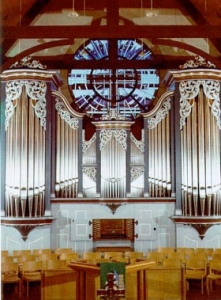 Christ the King Lutheran Church organ