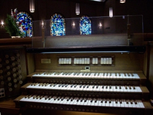 Clear Lake United Methodist Church organ