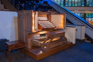 Second Baptist Worship Center organ