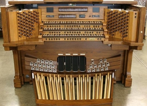 St Anne Catholic Church organ