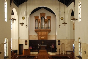 First Evangelical Lutheran Church organ