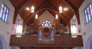 First Evangelical Lutheran Galveston organ