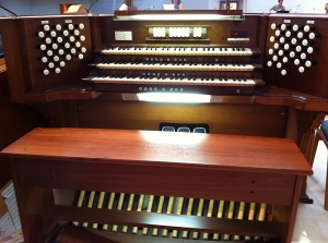 First UMC Conroe organ
