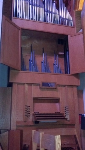 St Cecilia Catholic Church organ